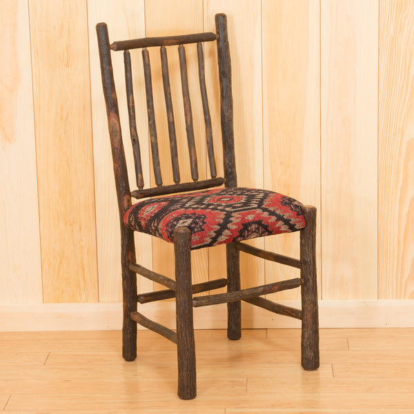Phelps Chair in Hickory with Fabric Seat
