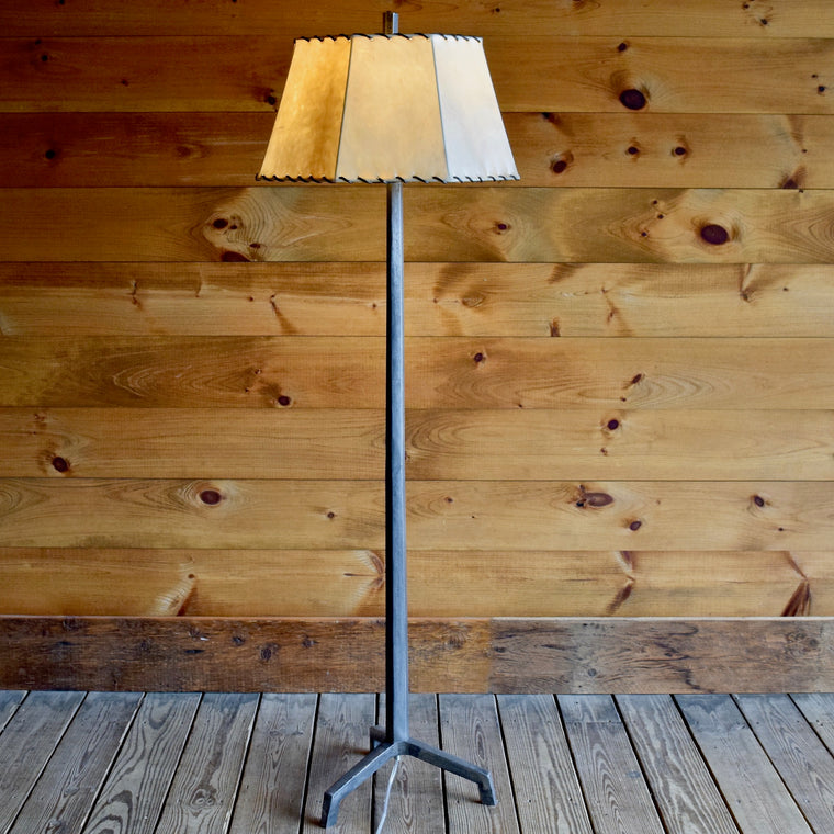 Tapered Iron Floor Lamp