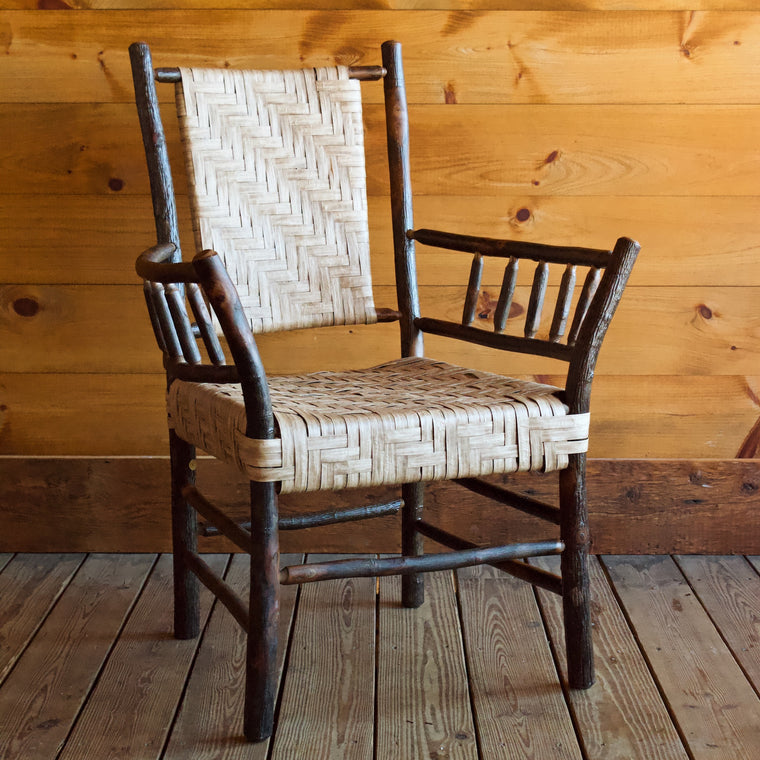 Keene Valley Chair in Hickory and Splint