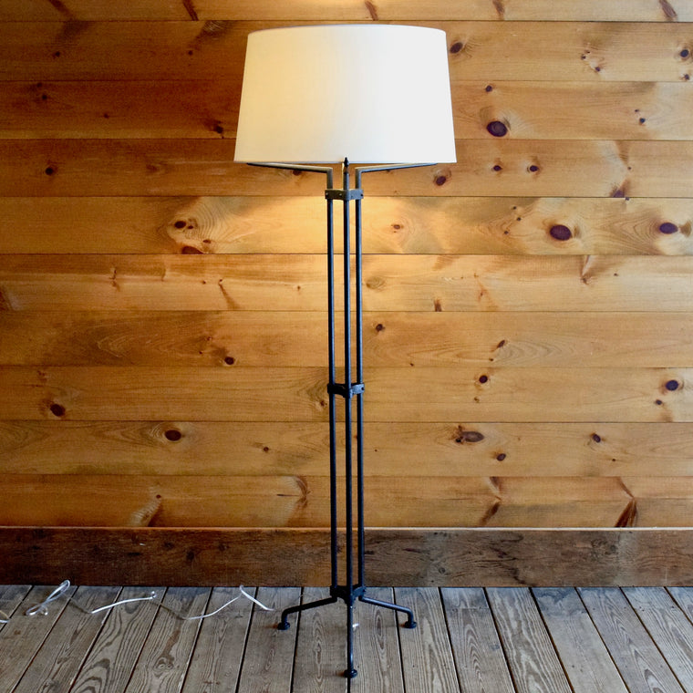 Angular Iron Floor Lamp