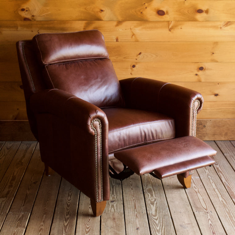 Meacham Leather Recliner