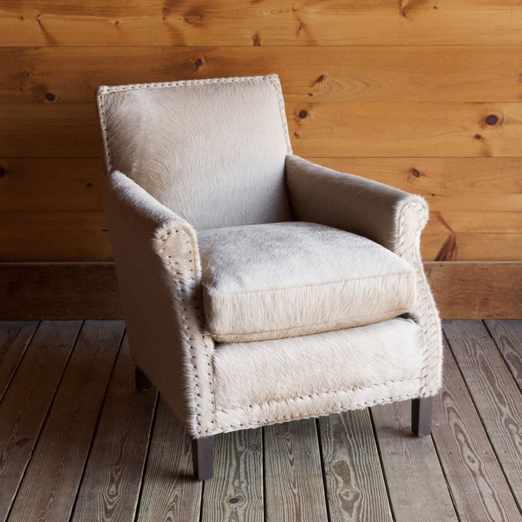 Iroquois Arm Chair in Tanzania Ash Leather