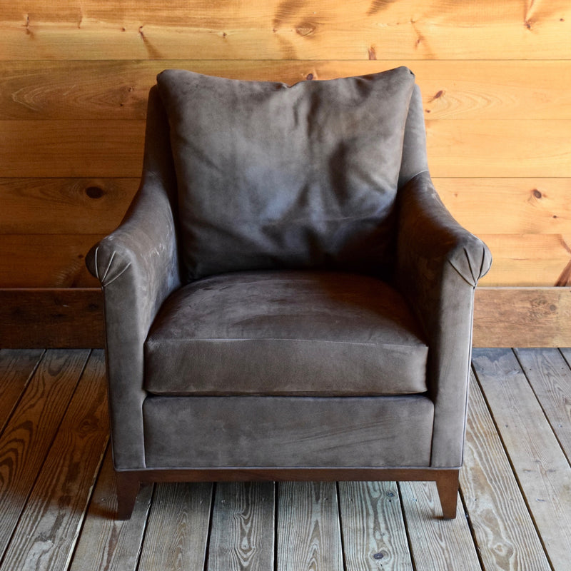 Jules Chair by Hickory Chair Company with Knife Edge Back Pillow