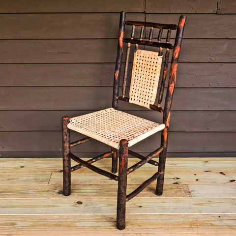 Hudson Chair in Hickory with Cane Seat