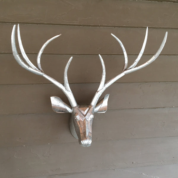 Tin Wall Stag