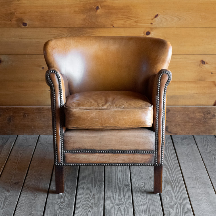 Jensen Leather Club Chair