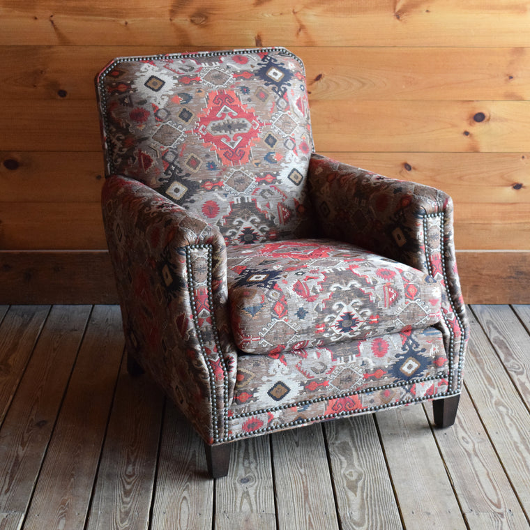 Lakeside Club Chair in Rug Tapestry