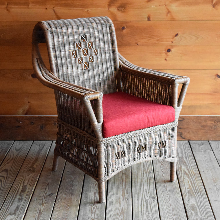 1932 Wicker Infinity Chair