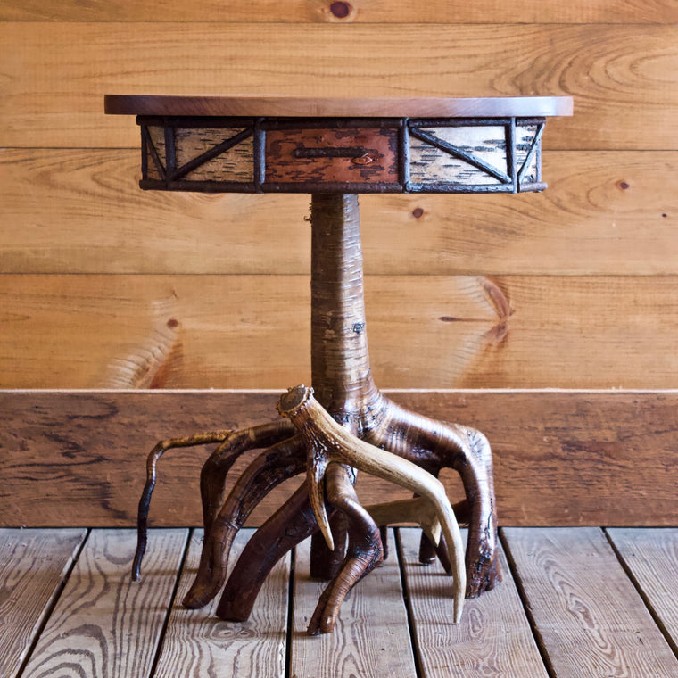Root Base Side Table