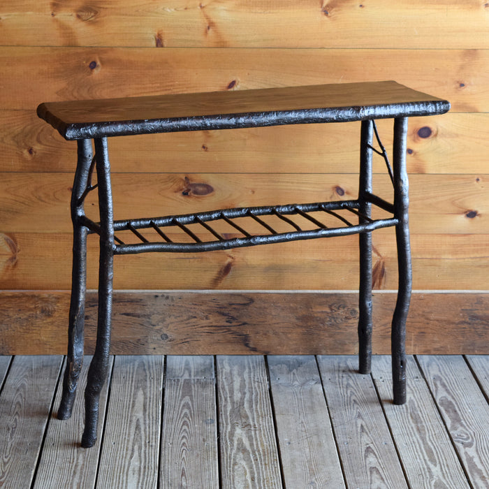 Rustic Twig and Branch Sofa Console Table 38""