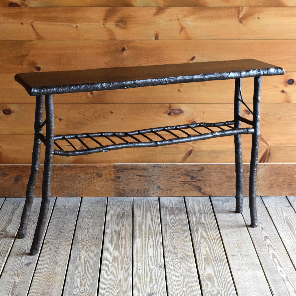 Rustic Twig and Branch Sofa Console Table 48""
