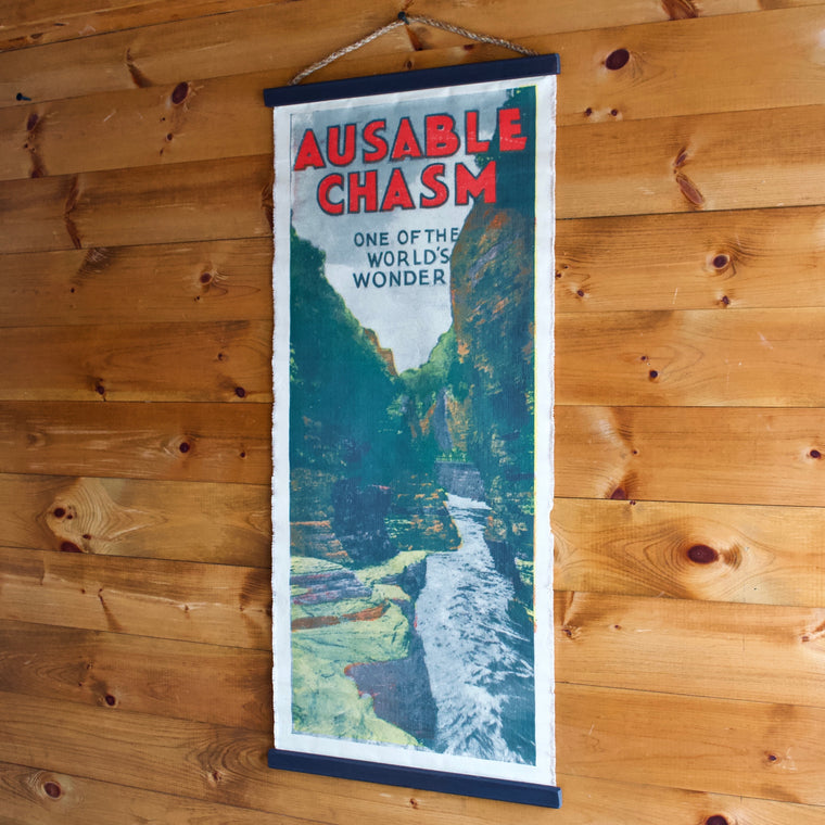 Ausable Chasm Wall Chart