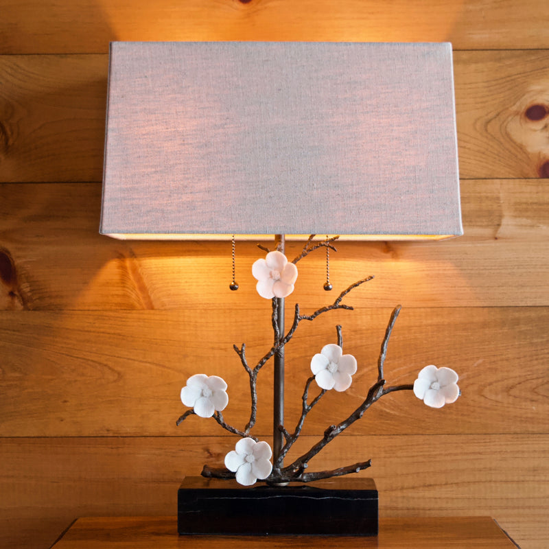Cherry Blossom Table Lamp Rustic Furniture Store Dartbrook