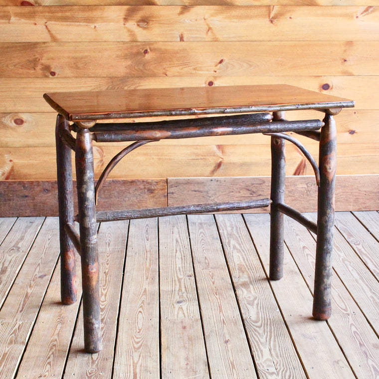 Classic Writing Desk with Barnwood Top | Dartbrook Signature Collection