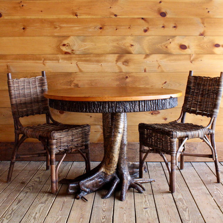 Adirondack Rustic Root Base Dining Table