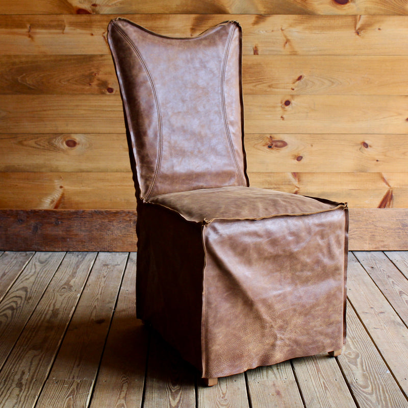 Top Grain Leather Dining Chair