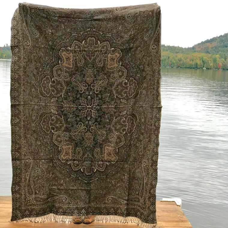 Boiled Wool Throw