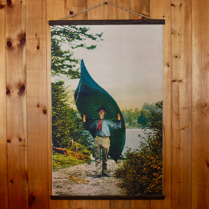 Adirondack Canoe Carry Wall canvas