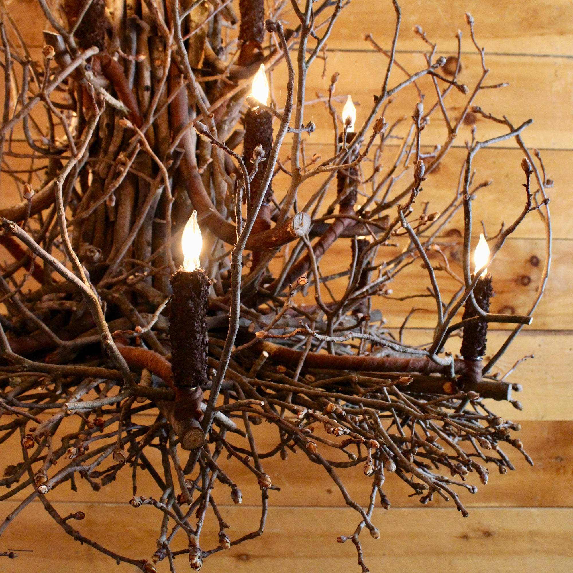 Gothics Twig Chandelier Rustic Lighting Dartbrook Rustic Goods