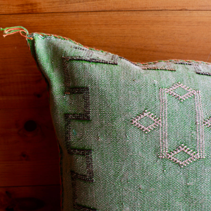 Cactus Rug Pillow | Rectangle