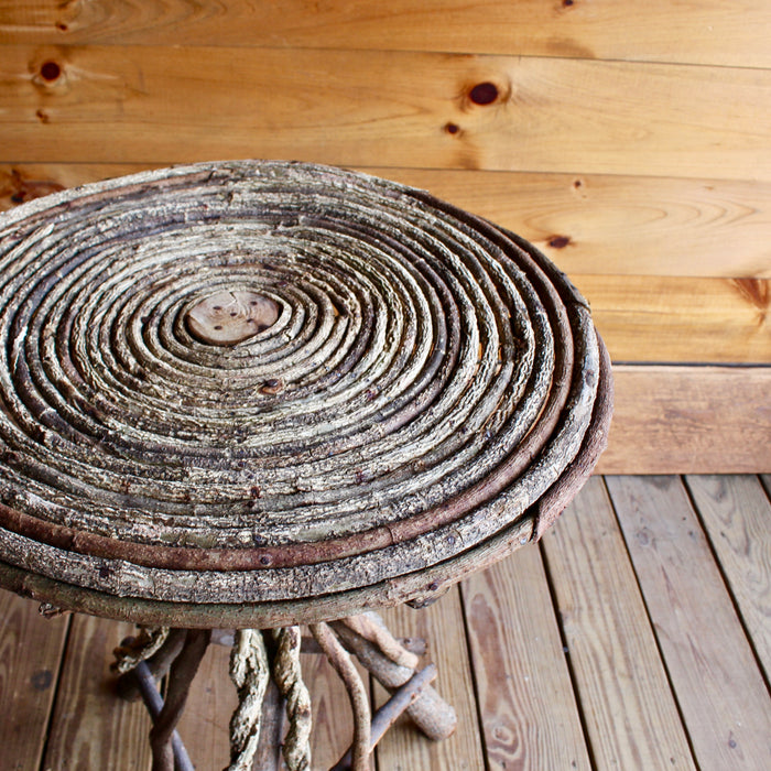 River Root Coiled Table