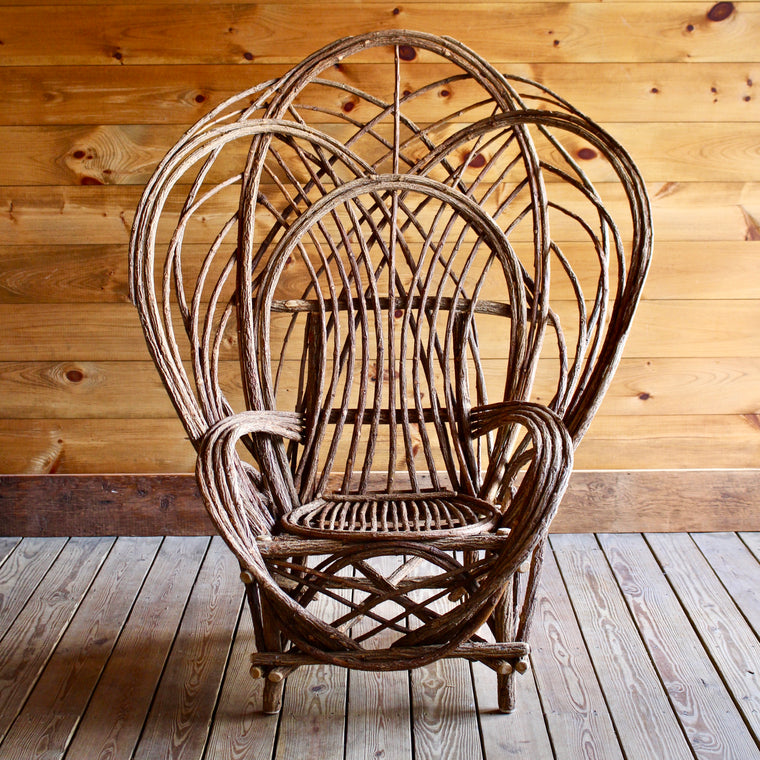 Oversized Bent Willow Chair