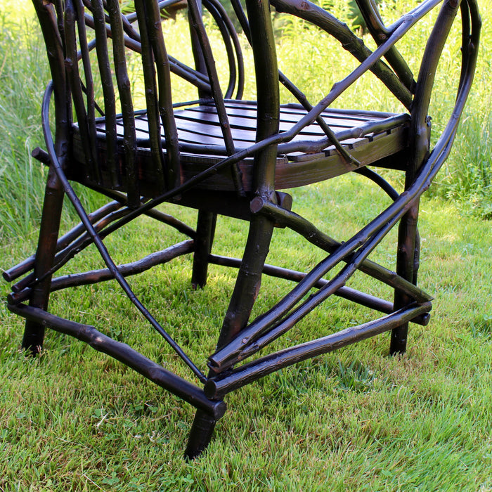 Adirondack Rustic Bentwood Hickory Chair