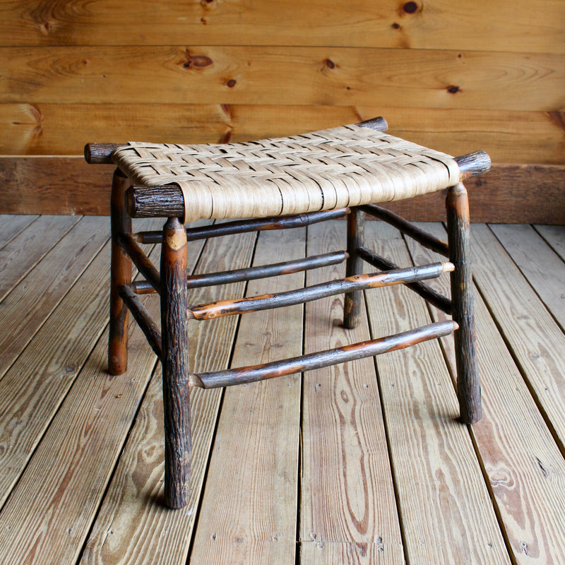 Camp Stool in Hickory and Splint | Dartbrook Signature Collection