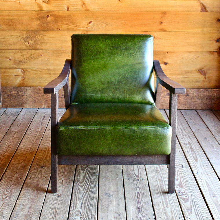 Porter Leather Arm Chair