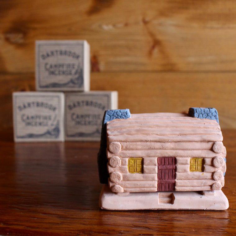 Dartbrook Cabin Burner & Campfire Incense | Dartbrook Signature Collection