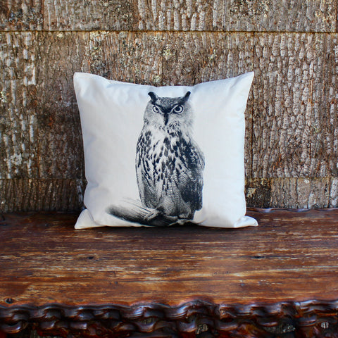Canvas Animal Pillow