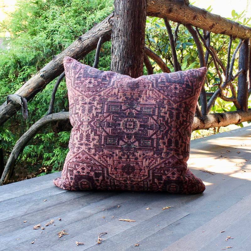 fabric tapestry pillow