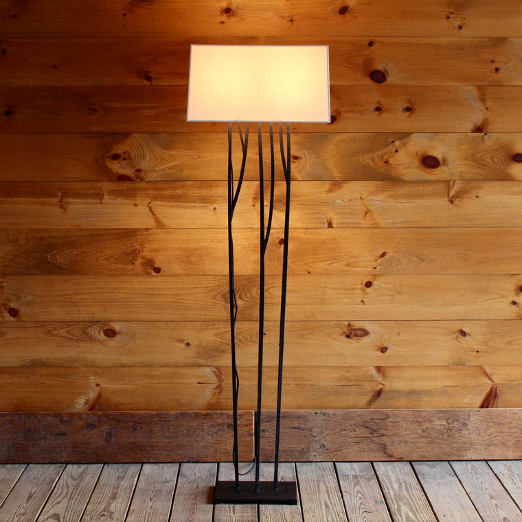 Iron Grove Floor Lamp