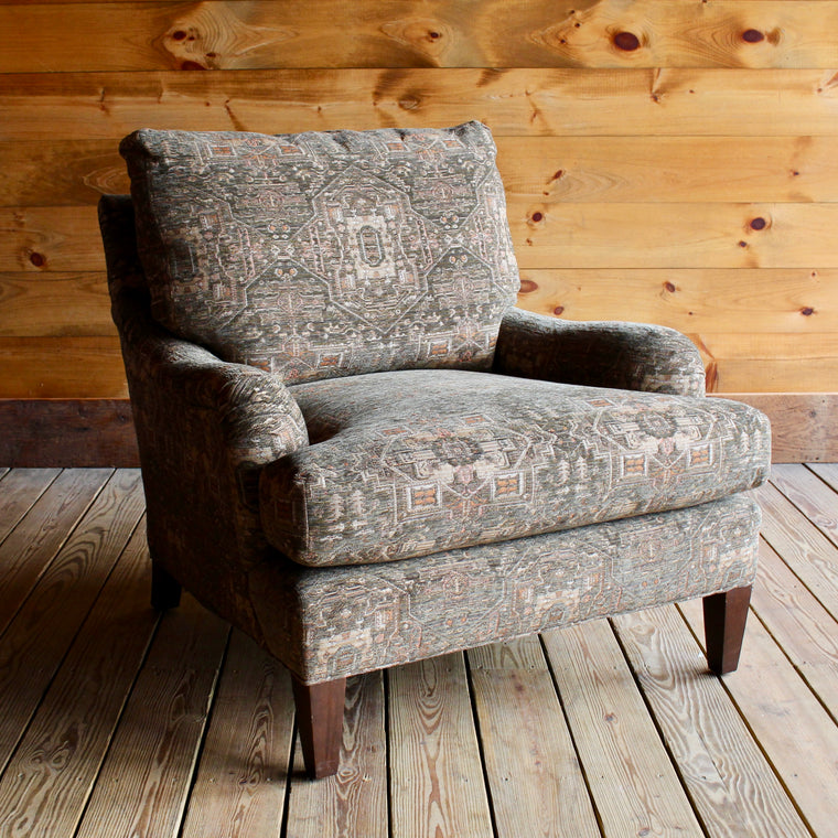 English Roll Arm Chair