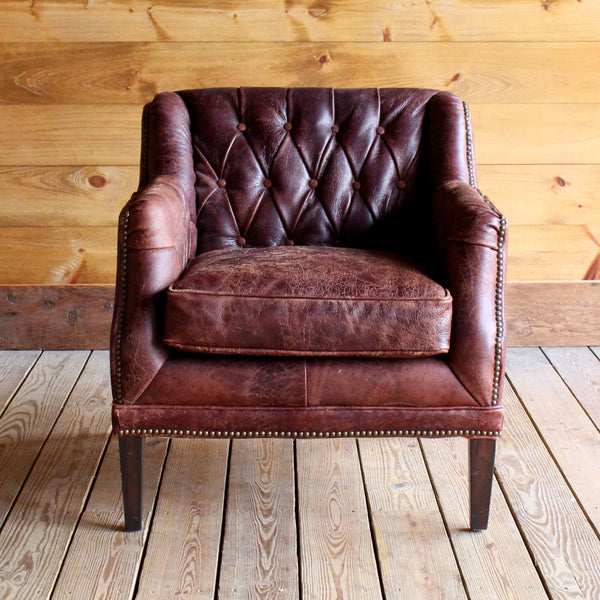 Leather Admiral Lloyd Chair