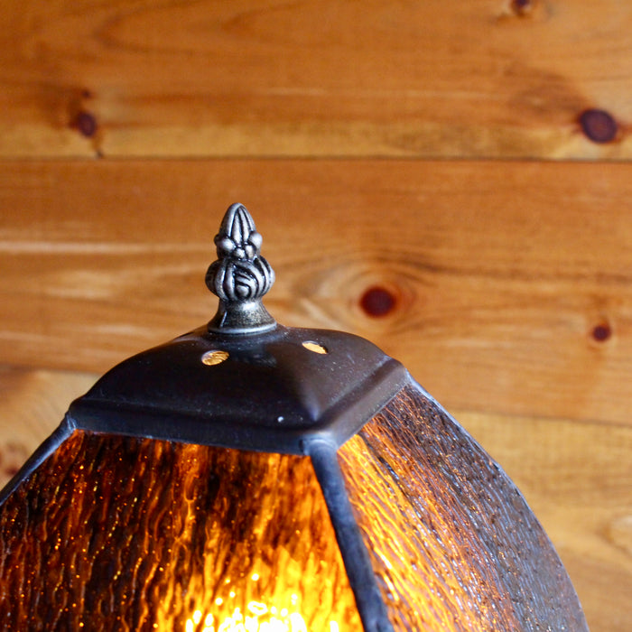 Root Beer Glass Table Lamp