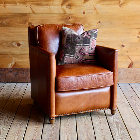 Hudson Leather Club Chair