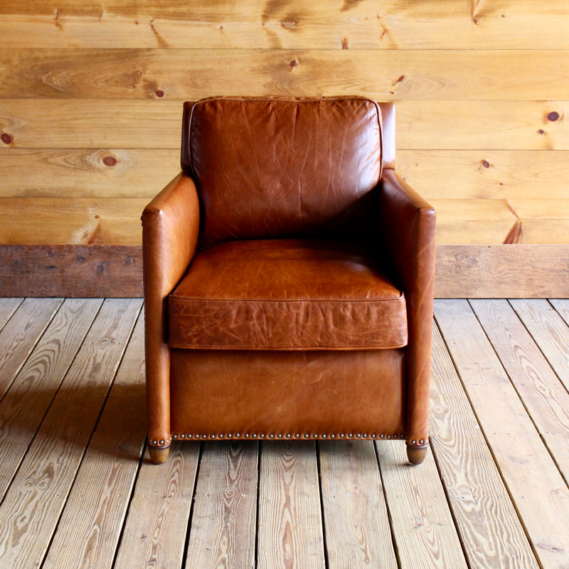chair product club handmade lewis tan chesterfield leather vintage john original antiques large chairs bargain garden