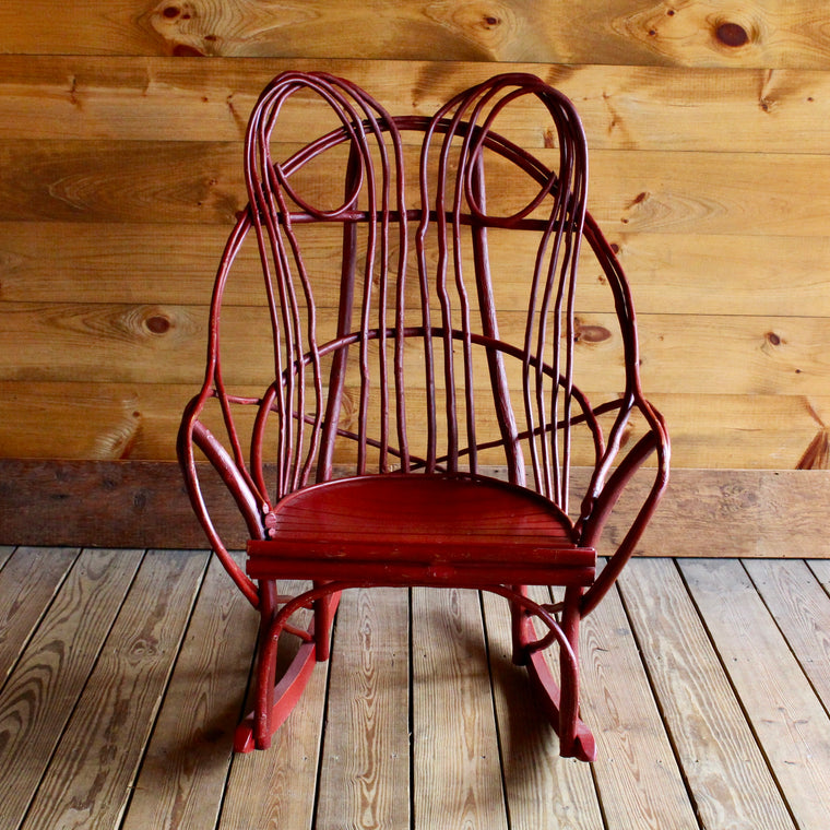 Painted Hickory Rocker