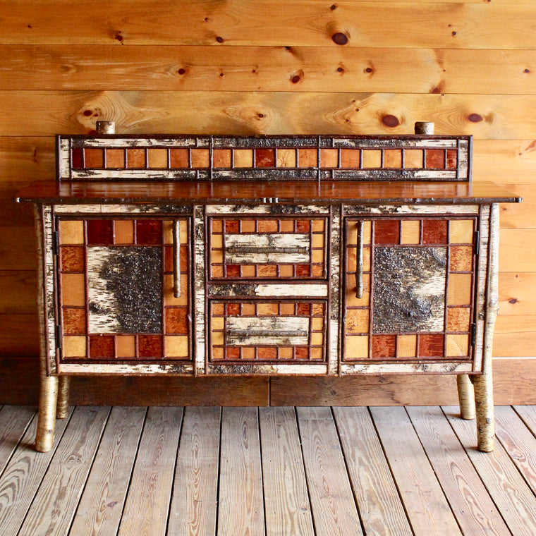 Upper Saranac Buffet Cabinet with Backsplash