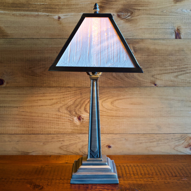 Porcelain Panel Table Lamp