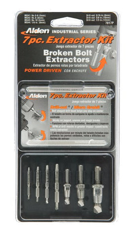 Alden 7017P Grabit® Extractor Select Series 7 Piece Kit