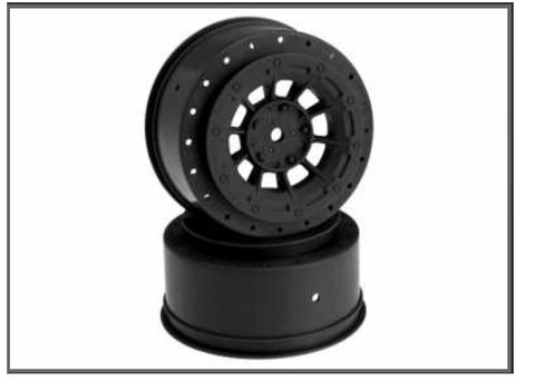JConcepts Hazard 12mm SC10 4x4 Hex Wheel Black (2) JCO3344B
