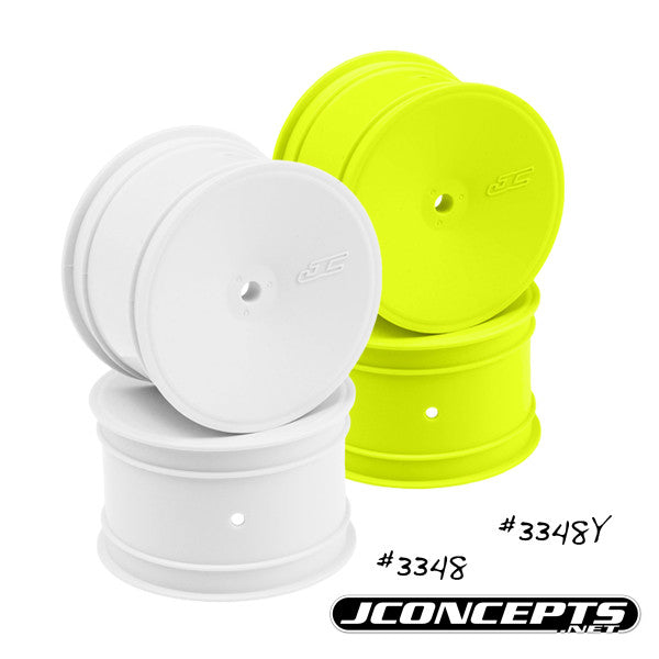 JConcepts Mono B46 B44.1 B5 B6 RB5 RB6 12mm Hex Rear Wheel Yellow 4Pc JCO3348Y