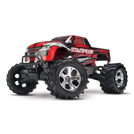 Traxxas Stampede 4X4 Brushed 1/10 RTR Truck w/XL-5 ESC TQ 2.4GHz Battery & Charger