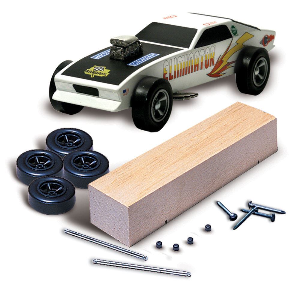 PineCar #P370 PineCar Racer Basic Car Kit Blocks and Kits