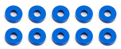 Team Associated 7.8x2.0mm Aluminum Bulkhead Washer (10) ASC31386