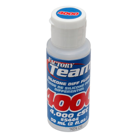 Team Associated Silicone Differential Fluid Oil 2oz 4,000cst ASC5444