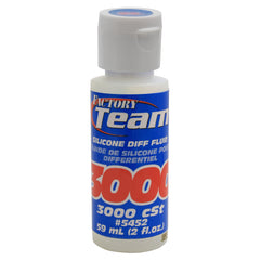 Team Associated Silicone Differential Fluid Oil 2oz 3,000cst ASC5452