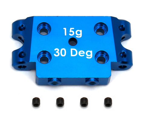Team Associated B5 B5M SC5M T5M Factory Team Aluminum Bulkhead 30 Deg ASC91368